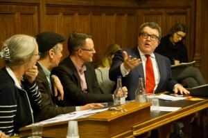 Tom Watson MP with Cybersalon in House of Commons